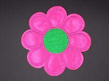 "PINK FLOWER PETALS PATCH DAISY APPLIQUE,LOVE FLOWER,HIPPIE FLOWER3.375""(PDL-344)"