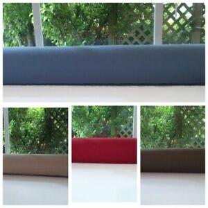 Door Draftstopper Cedar Filled Draft Stopper Breeze Blocker Decorative Colors