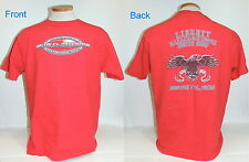 Liberty Harley Davidson North Shop Boston Hts OH T-Shirt Red S/S Size L