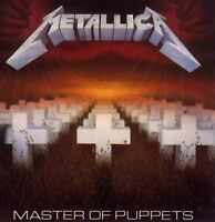 METALLICA master of puppets (CD album) thrash, speed metal