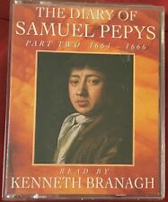 AUDIO BOOK The Diary of SAMUEL PEPYS Part Two 1664-1666 on 2 cass Ken Branagh