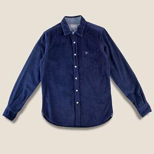 Henri Lloyd Needle Cord Shirt Mens (M) Corduroy Long Sleeve NeedleCord Casual