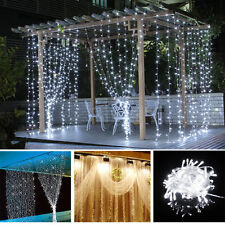 10M 100 LED Christmas Xmas String Fairy Lights Wedding Curtain Tree Decor Lamp