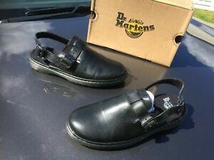 Dr.Martens Jorge Rve black westfield leather sandals UK 8 EU 42