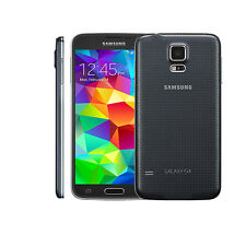 Unlocked Samsung Galaxy S5 SM-G900T (16GB) 16MP Android OS Smart Phone - Black