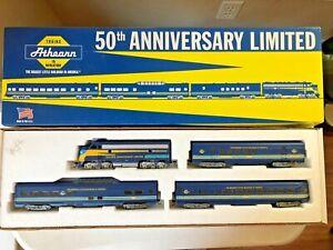 Athearn #1010 50th Anniversary Set-F7 Diesel Locomotive #4797 & 3 Passenger Car