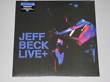 JEFF BECK Live + (Live+) 180g 2LP gatefold New Sealed Vinyl  LP