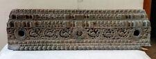 18c Antique Wooden Door Panel Beam Vintage Home Decor Wall Corbel Handmade panel