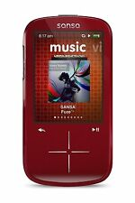 SanDisk Sansa Fuze+ 4Gb Mp3 Mp4 Player with Fm Radio - Red