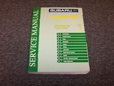 2003 Subaru Forester Shop Service Repair Manual Section 3 Engine X XS 2.5L
