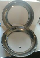 """VINTAGE HUBCAP BEAUTY RINGS WHEEL RIM TRIM RING 15"""" Chevy Buick Plymouth"""