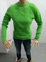 Maglione RALPH LAUREN Donna Sweater Woman Pull Femme Taglia Size M Lana 8212