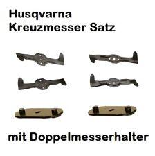 Rasenmähermesser Husqvarna CTH 135 CTH 151 CTH 155 Satz 4 Stck 5er u. 6er Stern