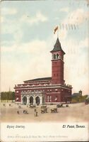 EL Paso, TEXAS - Union Station - 1908 - ARCHITECTURE