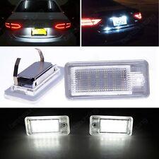 Éclairage plaque immatriculation Audi LED A3 8P A4 B6 B7 A5 A6 4F A8 S8 4E 4H Q7