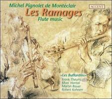 MICHEL PIGNOLET DE MONT'CLAIR: LES RAMAGES - FLUTE MUSIC NEW CD