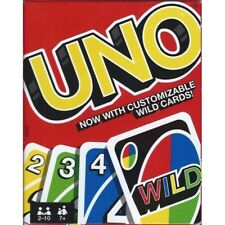 UNO PLAYING CARDS NEW 2 to 10 PLAYERS BRAND NEW FREE POST