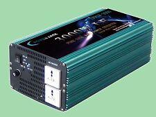 3000W LF Pure Sine Wave Power Inverter DC 24V to AC 220V-230V, DE stock