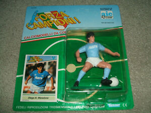 1990 Kenner Forza Campioni DIEGO A MARADONA Figure & Card, Unpunched NEW