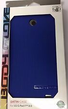 NEW Body Glove Satin Case for LG G PAD F 8.0 Blue 849944019361