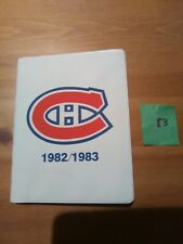 82-83 Steinberg Montreal Canadiens Set (24) NHL Hockey cards in Special Booklet