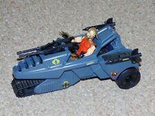 Vintage 1990 G.I. Joe ARAH Dictator Vehicle with Overlord Figure Near Complete
