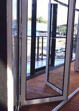 ALUMINIUM BIFOLD DOOR | DOUBLE GLAZED - 2360h x 2410w - 303 | WHITE