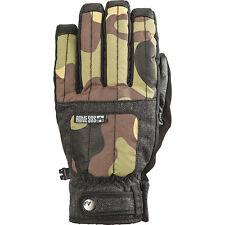 Rome Emblem Snowboard Glove - Mens Small - Camo - Winter Ski  - Tech Leather
