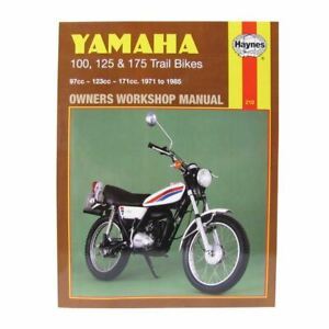 Manual Haynes for 1974 Yamaha DT 125 A (Twin Shock)