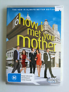 How I Met Your Mother Complete Season 6 Region 4 DVD x 3 discs