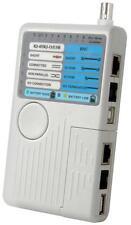 Mercury 505.993 4 En 1 Control Remoto Red Probador De Cable Usb Rj11 Utp/stp Bnc Circuito
