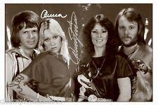 ABBA ++Autogramme++ ++POP Legende 70er Jahre++3