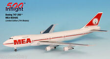 InFlight500 MEA Middle East Airlines N204AE Boeing 747-200 1:500 Scale New