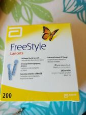 Box of 200 FREESTYLE Lancets 28 Gauge  *NEW* Exp 2020/08