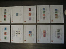 Switzerland  Special Stamps! 10 pieces, 1st Day Issue,  1974 complete year.