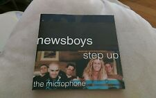 Newsboys Step Up To The Microphone CD Entertaining Angels Hallelujah Believe oop