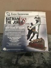 DC COMICS Classic Confrontations BATMAN vs The JOKER STATUE DAR KNIGHT DAMAGE