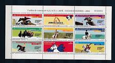 [28474] Spain 2002 Equestrian Horse riding MNH Sheet