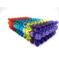 100 Stück Magnet Pins N35 Neodym Kegelmagnet Starke Magnetpins Kunststoff