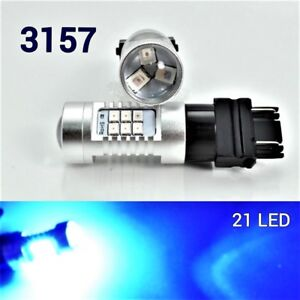 Front Signal Light T25 3157 3057 4157 Peformance Auto 21 SMD LED Blue  B1 A