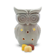 Wax Burner - Grey Owl Electric wax warmer + light, dimmer & scrumptious scents