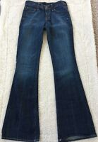 Womens Citizens of Humanity Stretch Jeans Size 24 Ingrid 002 Low Waist Flair Fit