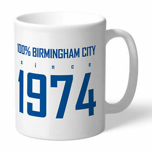 PERSONALISED Birmingham City FC Gifts - 100 Percent Mug - Official