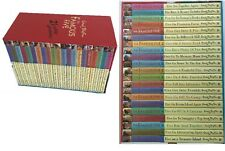 THE FAMOUS FIVE 21 EXCITING ADVENTURES Enid Blyton Box Set Kids Fiction Story