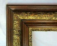 "BIG FITS 16""x 20"" OAK GOLD GILT  PICTURE FRAME FINE ART ORNATE VICTORIAN"
