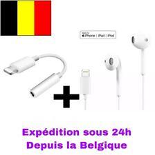 Adaptateur jack iPhone, écouteur iPhone, accessoire iphone, earphone adapter