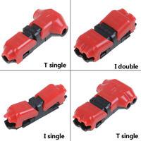 T/I Tipo 1pin/2pin Connettore per Terminale Elettrico per Auto Cavo 24-18 AWG
