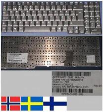 Tastiera Qwerty NORDIC/NORDICA SB65 SB85 PB3 MP-03756DN-9203 AEPB3N00010 Nero