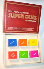 Vintage 1982 Super Quiz Trivia Knowledge Game Movies History Words FREE SHIPPING