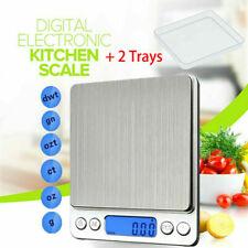Digital LCD Küchenwaage Feinwage Präzision Briefwaage Gold-& Münzwaage 3kg/0,1g